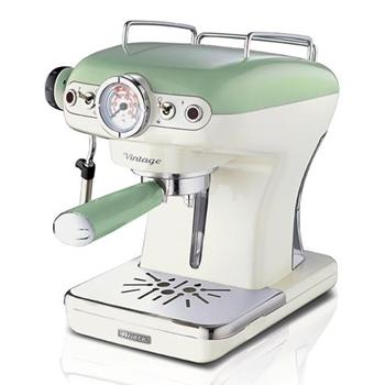 Ariete Macchina da Caffè 1389 Vintage 15bar 900ml 850W Verde