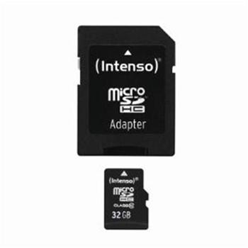 INTENSO MICRO SD CARD 32GB CON ADATTATORE