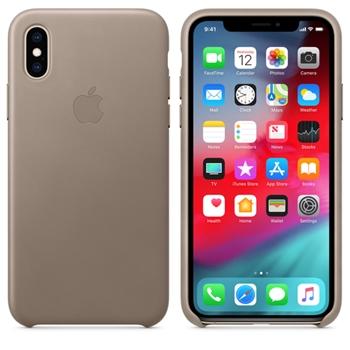 """Apple MRWL2ZM/A custodia per cellulare 14,7 cm (5.8"""") Cover Grigio talpa"""