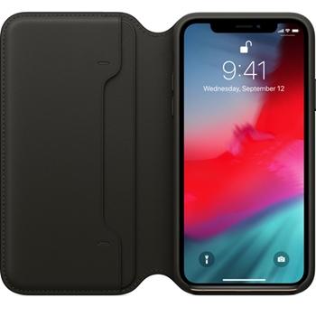 """Apple MRWW2ZM/A custodia per cellulare 14,7 cm (5.8"""") Custodia a libro Nero"""