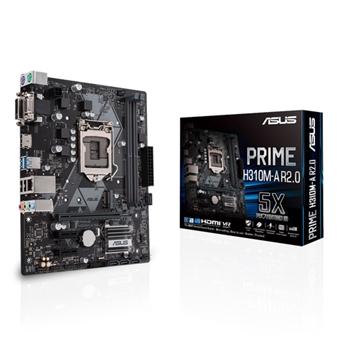 ASUS PRIME H310M-A R2.0 ASUS PRIME H310M-A R2.0, LGA1151, mATX, DDR4 2666, SATA 6 GB/s, USB 3.1, hdmi