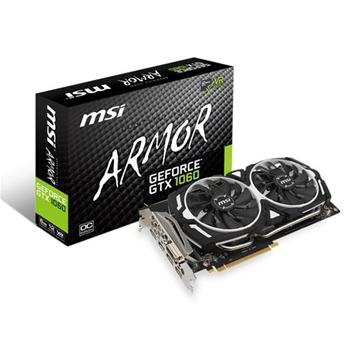 VGA MSI GeForce® GTX 1060 6GB Armor 6G OCV1