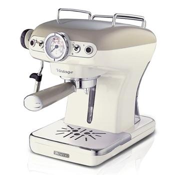 Ariete Macchina da Caffè 1389 Vintage 15bar 900ml 850W Beige