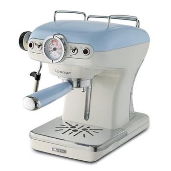 Ariete Macchina da Caffè 1389 Vintage 15bar 900ml 850W Celeste