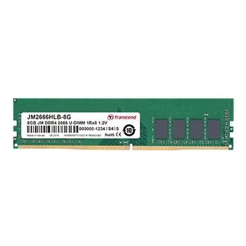 TRANSCEND 8GB JM DDR4 2666 U-DIMM 1RX8