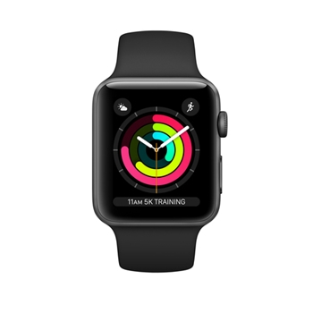 Apple Watch Series 3 42 mm OLED Grigio GPS (satellitare)