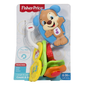 Fisher-Price Infant Chiavi Conta e Vai