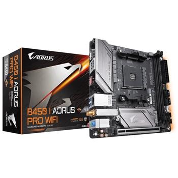 Gigabyte B450 I AORUS PRO WIFI scheda madre Presa AM4 Mini ATX AMD B450