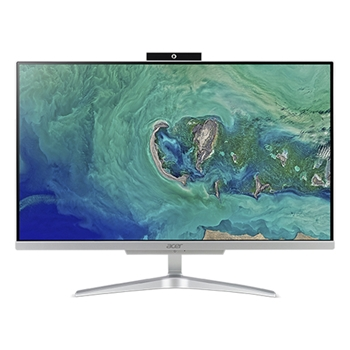 """Acer Aspire C24-865 60,5 cm (23.8"""") 1920 x 1080 Pixel Intel® Core™ i5 di ottava generazione i5-8250U 8 GB DDR4-SDRAM 1000 GB HDD Argento PC All-in-one"""