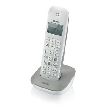 Brondi Gala Telefono DECT Grigio, Bianco Identificatore di chiamata