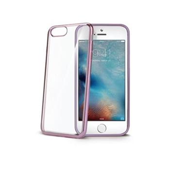 """Celly LASER800RG custodia per cellulare 11,9 cm (4.7"""") Cover Oro rosa"""