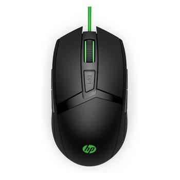 HP 300 mouse USB Ottico 5000 DPI Ambidestro