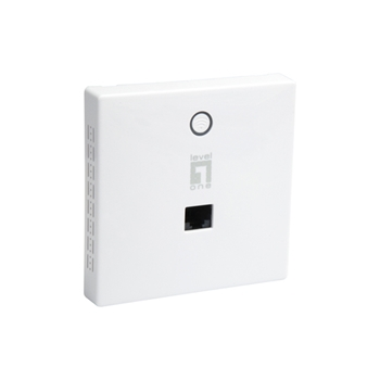 LevelOne WAP-8221 750 Mbit/s Supporto Power over Ethernet (PoE) Bianco