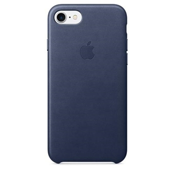 APPLE IPHONE 7 LEATHER CASE MID BLUE