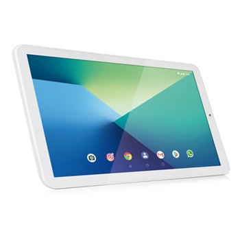 "Hamlet Zelig Pad 412W 25,6 cm (10.1"") ARM 2 GB 16 GB Wi-Fi 4 (802.11n) Bianco Android 8.1 Oreo"