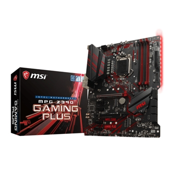 MSI MPG Z390 GAMING PLUS scheda madre LGA 1151 (Presa H4) ATX Intel Z390