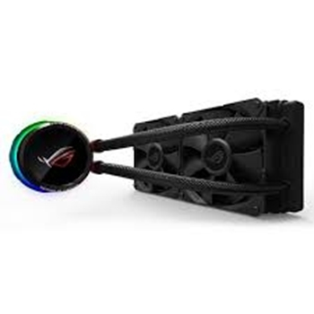 ASUS ROG RYUO 240 ROG Ryuo 240 all-in-one liquid CPU cooler color OLED Aura Sync ROG 240mm fan (P)