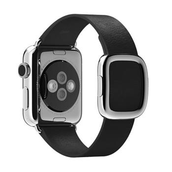 Apple MJY72ZM/A accessorio per smartwatch Band Nero Pelle