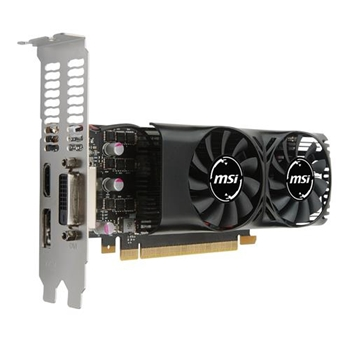 VGA MSI GeForce® GTX 1050 Ti 4GB 4GT LP