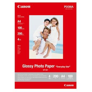 CANON GP-501 A4 GLOSSY PHOTO PAPER 100FG