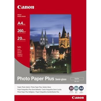 CANON SG-201 A4 SEMI GLOSSY PHOTO P. 20F
