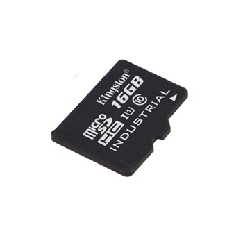 Kingston 16GB microSDHC UHS-I Industrial Temp Card Single Pack w/o Adapter
