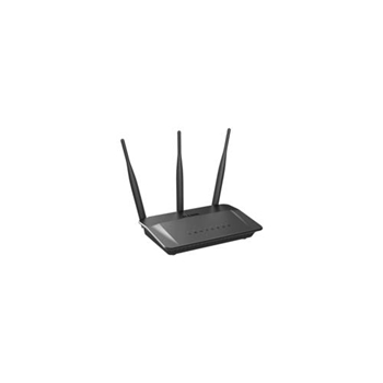D-Link DIR-809 router wireless Dual-band (2.4 GHz/5 GHz) Fast Ethernet Nero