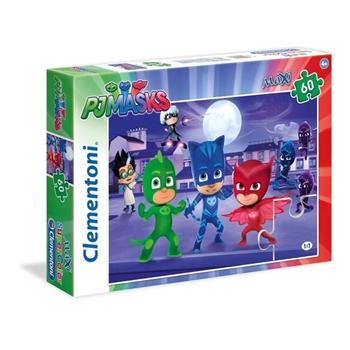 Clementoni 26423 Maxi Puzzle Pj Masks 60 pezzi