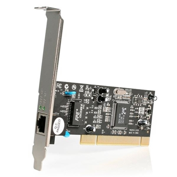 StarTech.com Scheda di Rete Ethernet PCI ad 1 porta - Adattatore PCIe NIC Gigabit Ethernet 10/100/1000 a 32Bit