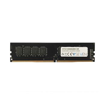 V7 8GB DDR4 2666MHZ CL19 NON ECC DIMM PC4-21300 1.2V 288PIN