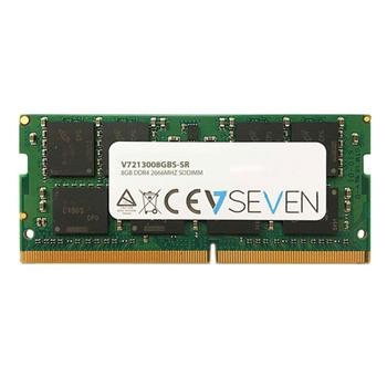 V7 8GB DDR4 2666MHZ CL19 NON ECC SO DIMM PC4-21300 1.2V 288PIN