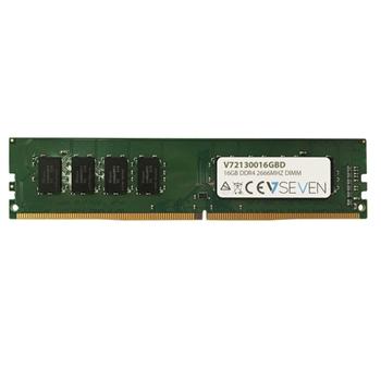 V7 16GB DDR4 2666MHZ CL19 NON ECC DIMM PC4-21300 1.2V 288PIN