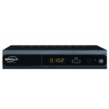 Digiquest RICD1201 set-top box TV Terrestre Full HD Nero
