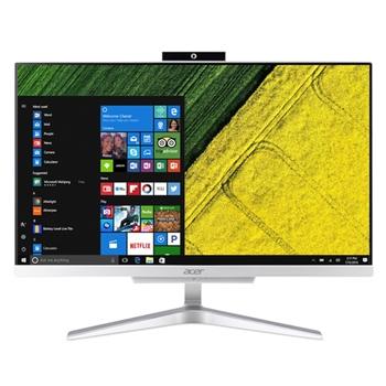 """Acer Aspire C22-865 54,6 cm (21.5"""") 1920 x 1080 Pixel Intel® Core™ i3 di ottava generazione i3-8130U 4 GB DDR4-SDRAM 1000 GB HDD Argento PC All-in-one"""