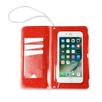 "Celly SPLASHWALL18OR custodia per cellulare 15,8 cm (6.2"") Custodia a borsellino Rosso"