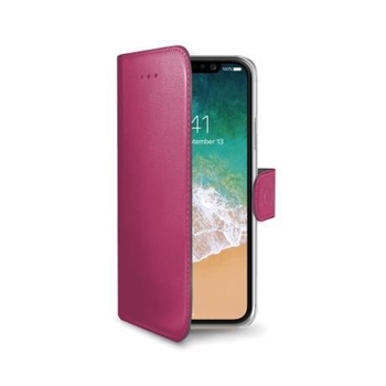 Celly Wally custodia per cellulare Custodia a borsellino Rosa