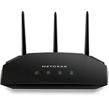 Netgear AC2000 router wireless Dual-band (2.4 GHz/5 GHz) Gigabit Ethernet Nero
