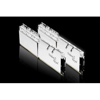 G.SKILL Trident Z Royal DDR4 16GB 2x8GB 3200MHz CL16 1.35V XMP 2.0 Silver