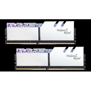 G.SKILL Trident Z Royal DDR4 16GB 2x8GB 3000MHz CL16 1.35V XMP 2.0 Silver
