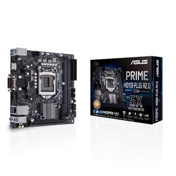 ASUS PRIME H310I-PLUS R2.0/CSM scheda madre LGA 1151 (Presa H4) Mini ITX Intel® H310
