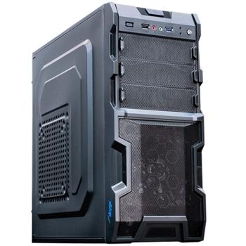 """Akyga ' aky003bk""""ATX PC di gomma per Gamer Nero Midi Tower"""
