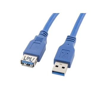 LANBERG CA-US3E-10CC-0030-B Lanberg extension cable USB 3.0 AM-AF 3m blue