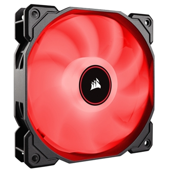 CORSAIR AF140 LED High Airflow Fan 140mm low noise dual pack red