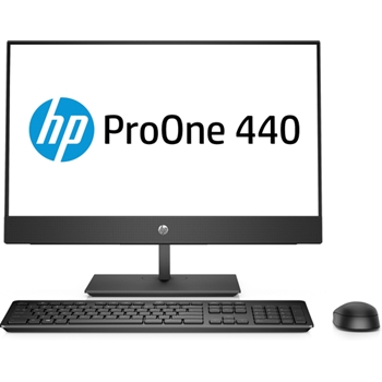 "HP ProOne 440 G4 60,5 cm (23.8"") 1920 x 1080 Pixel Intel® Core™ i5 di ottava generazione i5-8500T 8 GB DDR4-SDRAM 2000 GB HDD Nero PC All-in-one"