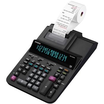 Casio CS-DR-320RE calcolatrice Desktop Calcolatrice con stampa Nero