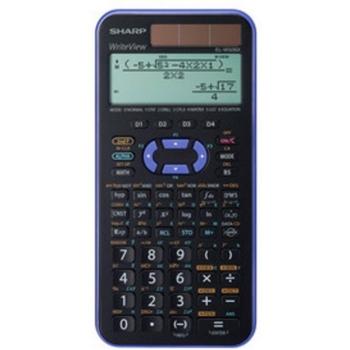 Sharp EL-W506TBSL calcolatrice Desktop Calcolatrice scientifica Nero