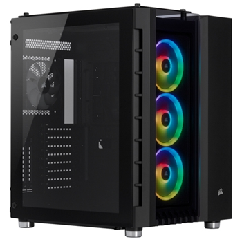 Corsair Crystal 680X RGB Midi-Tower Nero