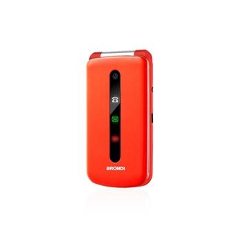 "Brondi President 7,62 cm (3"") 130 g Rosso Telefono cellulare basico"