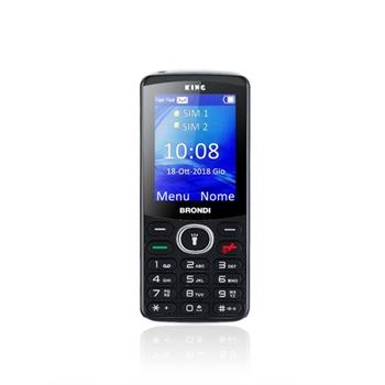 """Brondi King 6,1 cm (2.4"""") Nero Telefono cellulare basico"""
