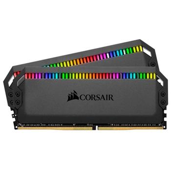 CORSAIR DOMINATOR PLATINUM RGB DDR4 16GB 2x8GB 3000MHz CL15 1.35V Black